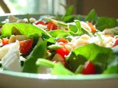 wedding table salads