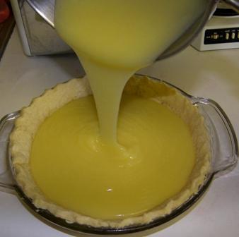 как сделать лимонную начинку для пирога