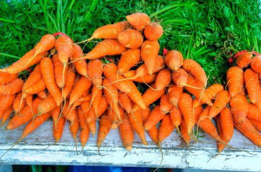 calorie carrots