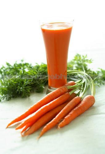 carrot juice calorie