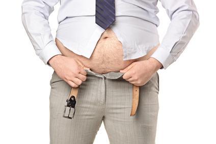 big belly in men