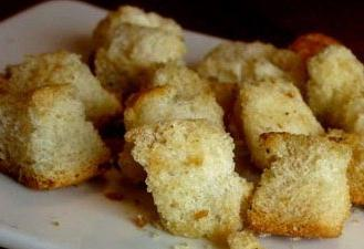 салат с курой и сухариками рецепт