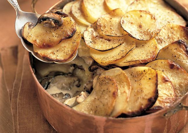 Рецепт жульена с грибами картофелем и