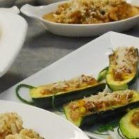 Блюдо из картофеля с грибами в духовке