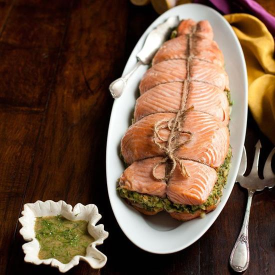 pink salmon in the oven