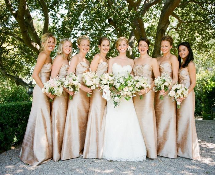 Что одеть на свадьбу в золотом