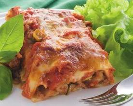 Cannelloni with minced meat