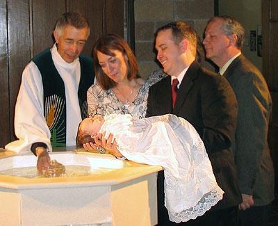 Процедура крещения ребенка