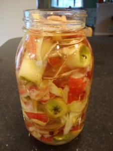 Как сделать яблочный уксус из яблочного