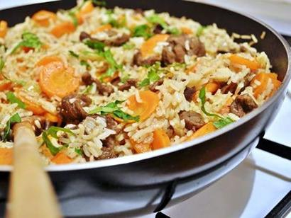 How to cook pilaf in a pressure cooker