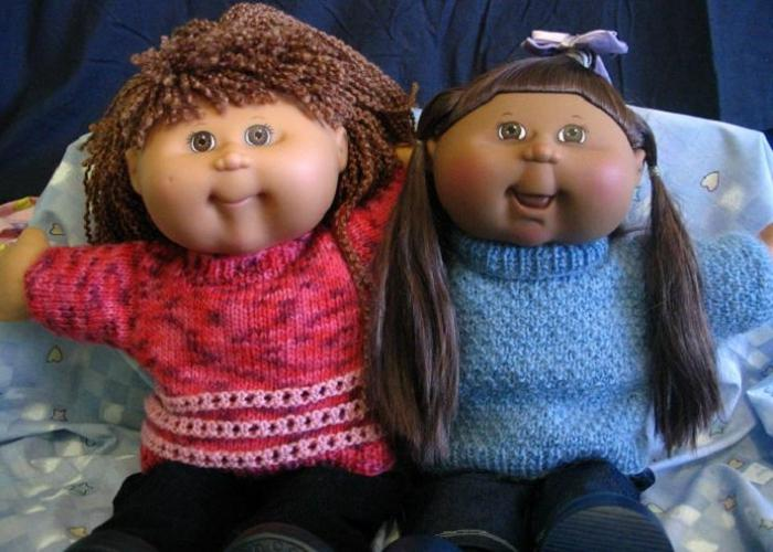 Куклы из колготок: забавные
