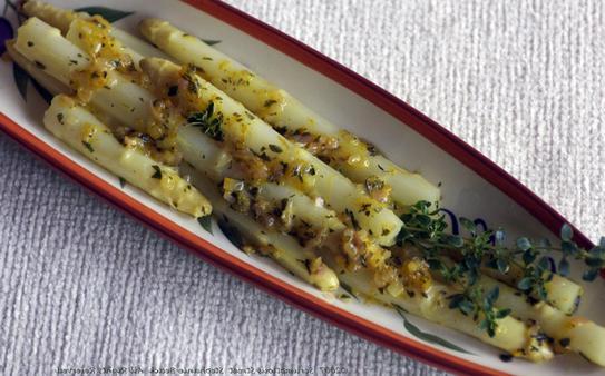 Asparagus white recipes