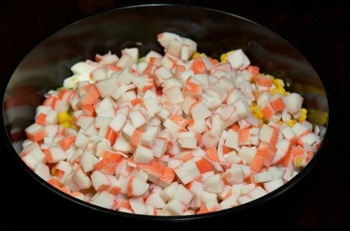 Салат с морской капустой и яйцом рецепт с очень вкусный