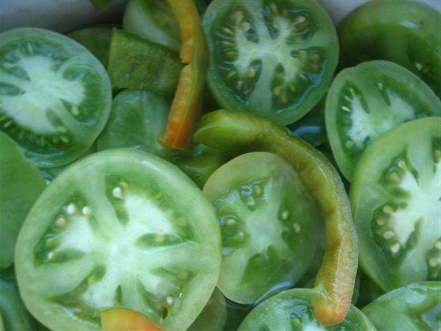 Заготовка для борща из помидор и перца на зиму