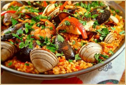 paella recipe with seafood