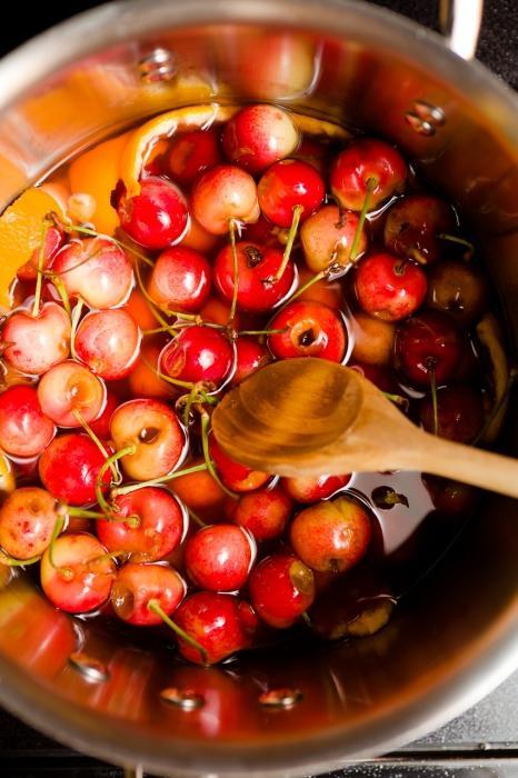 Как сделать настойку из вишни