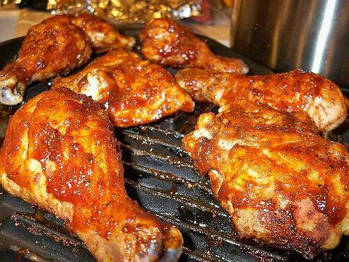 grilled chicken in the oven