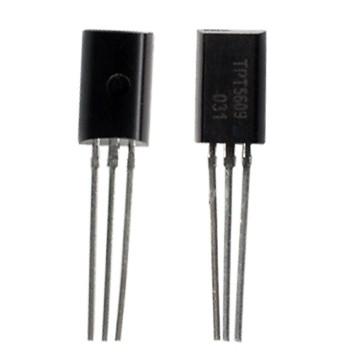 Bipolar common emitter transistor