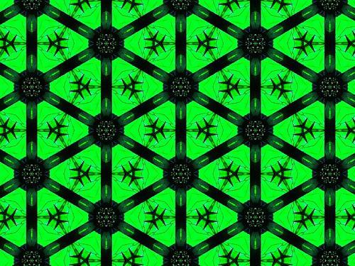 Metal crystal lattice