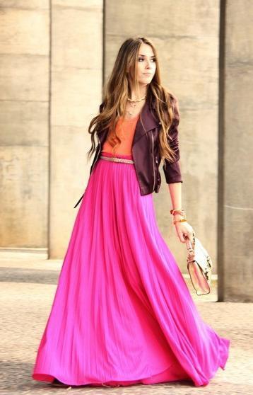 Длинные юбки, фото » Женские блузки
