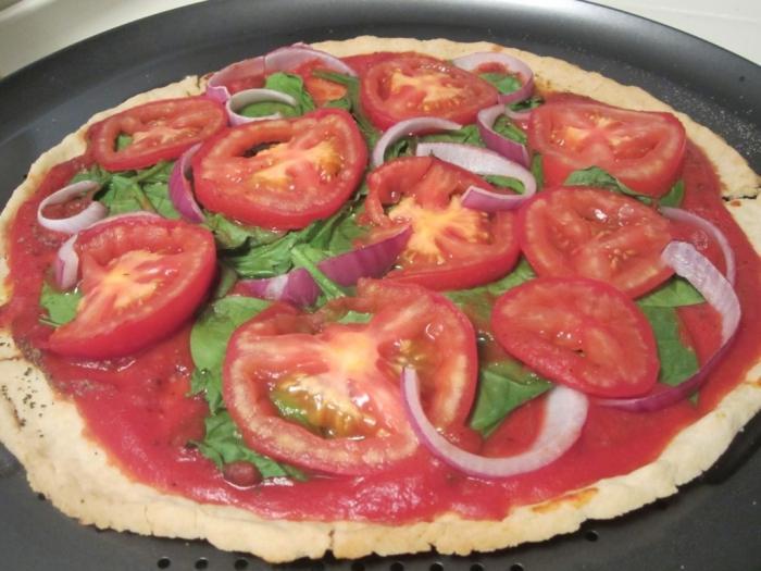 пышная пицца рецепт без дрожжей