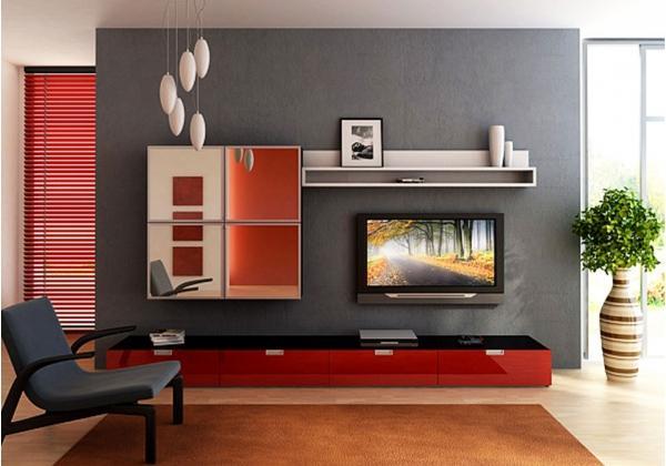 Дизайн стенки для маленькой комнаты