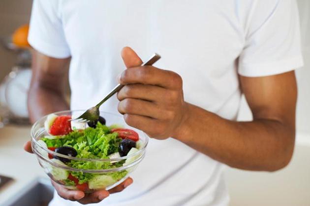 Diet ladder results
