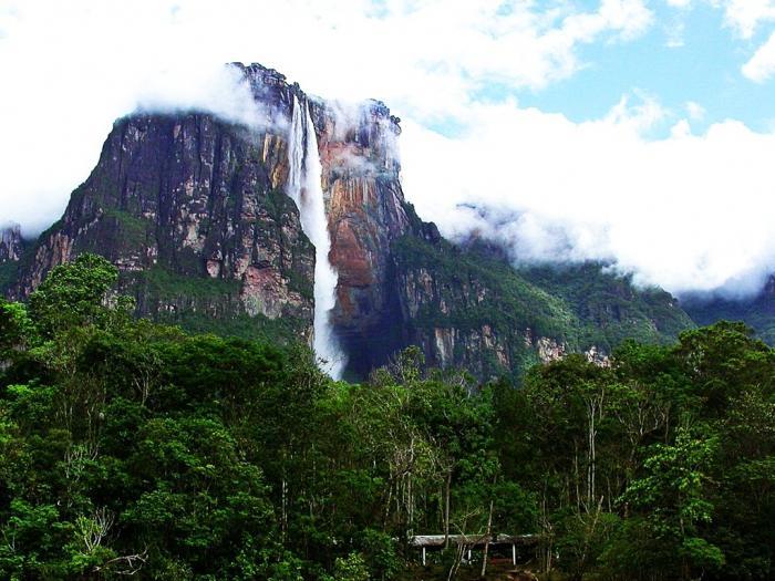 Какой самый высокий водопад в мире
