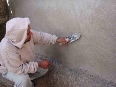 Wall leveling mixes