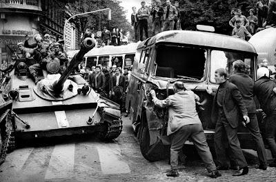 Suppression of the Prague Spring