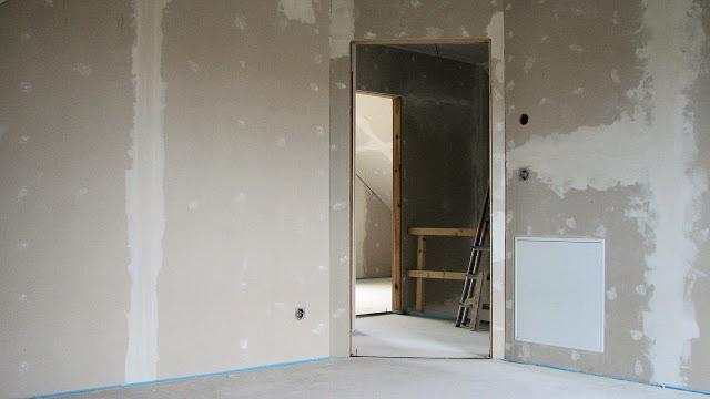installation of drywall profile