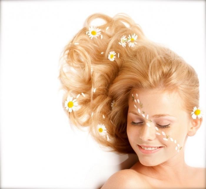 chamomile hair infusion