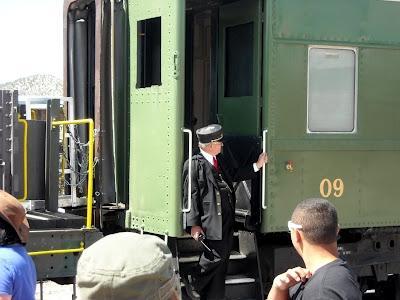 passenger train conductor