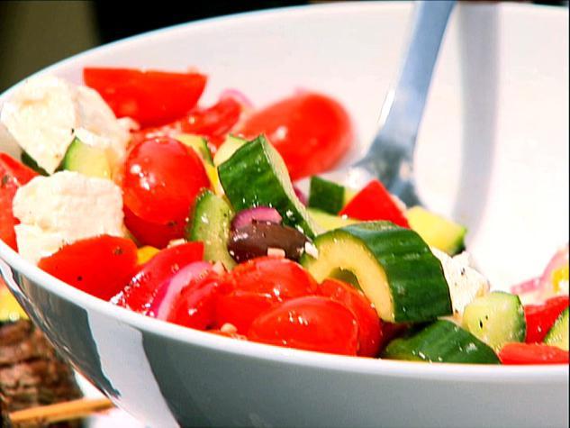 recipe for classic greek salad