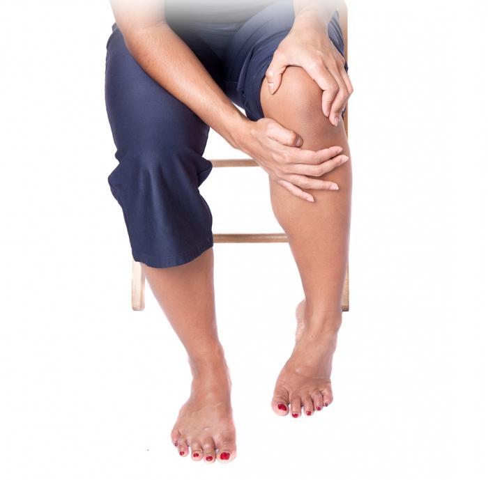 массаж под коленом