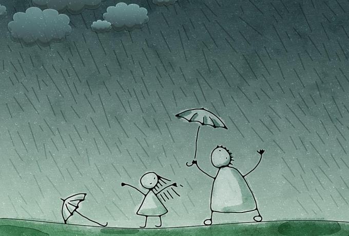 Видеть во сне, как целый день нудно моросит дождь и конца ему не предвидится - к надежде, что и на вашей улице будет еще праздник.