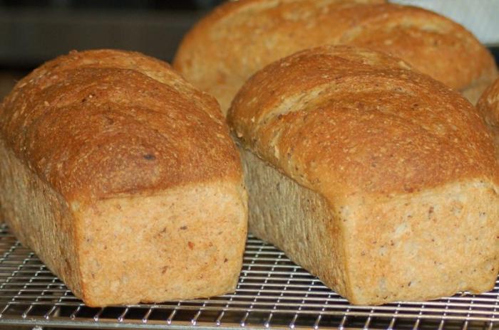 быстрый рецепт выпечки хлеба в духовке #11