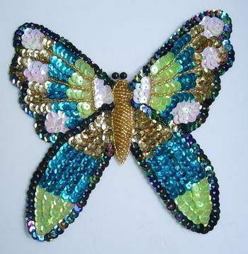 Изготовление бабочки из бисера своими руками.