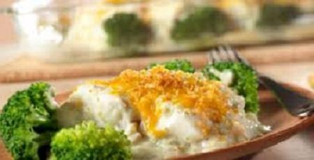 fish in the oven with vegetables