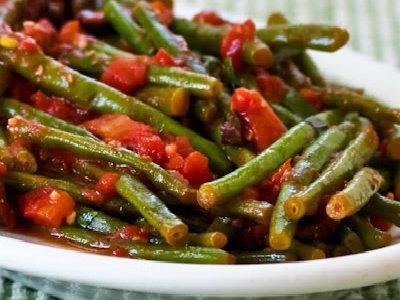 рецепт приготовления спаржевой фасоли с овощами