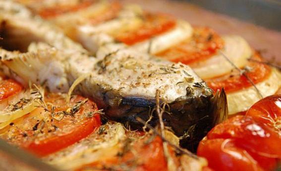 Рецепт сазан в сметане в духовке