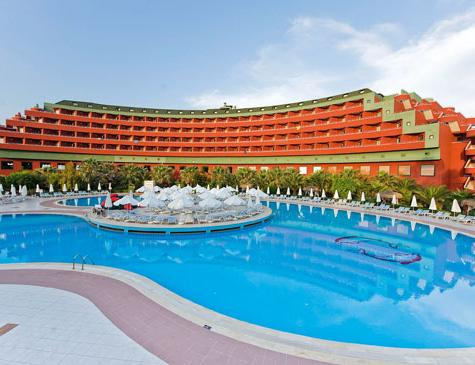location of the hotel dolphin in Turkey