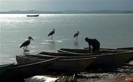 озеро виктория африка