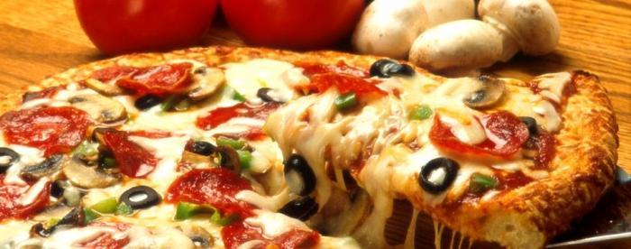 рецепт для приготовления пиццы с колбасой