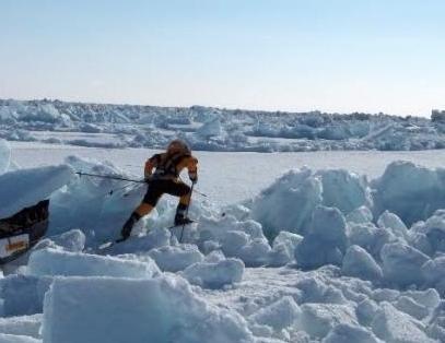 Bering Strait, Delta