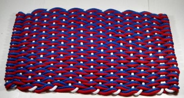 Плетенный коврик своими руками