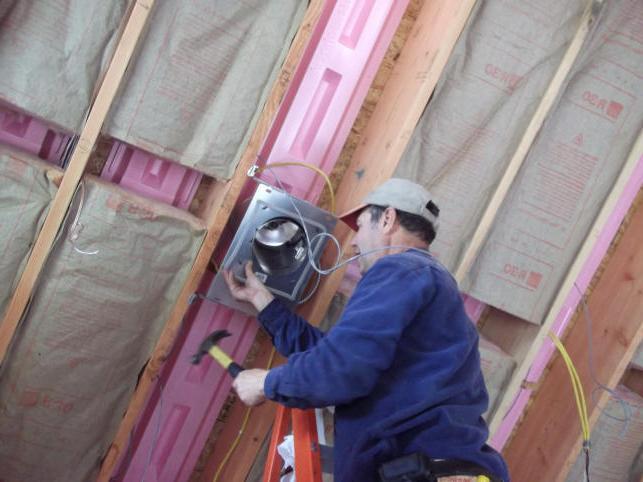 wall insulation inside the foam