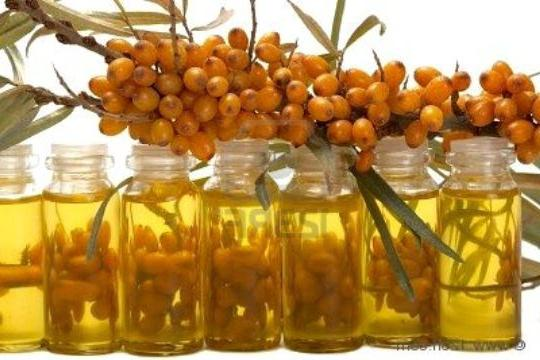 sea ​​buckthorn hair growth oil