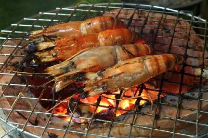 Креветки на костре рецепт с пошагово