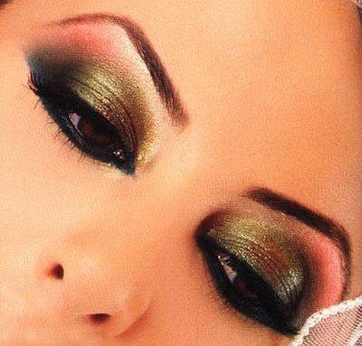 arabic makeup for brown eyes